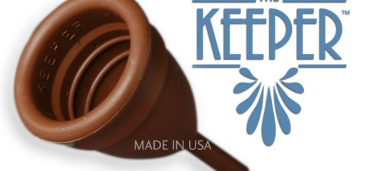 The Keeper menstrual cup
